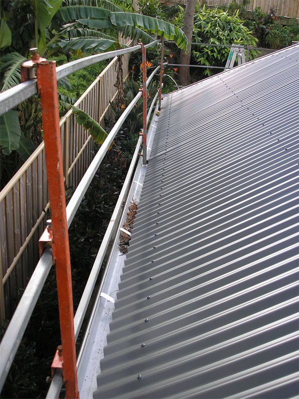 Roof Safety Rails Amp Keeguard Topfix Roof Guardrail